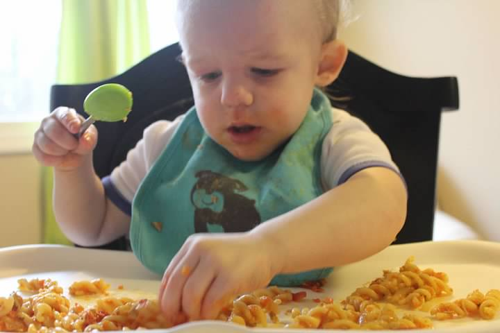Healthy (toddler approved) pasta!