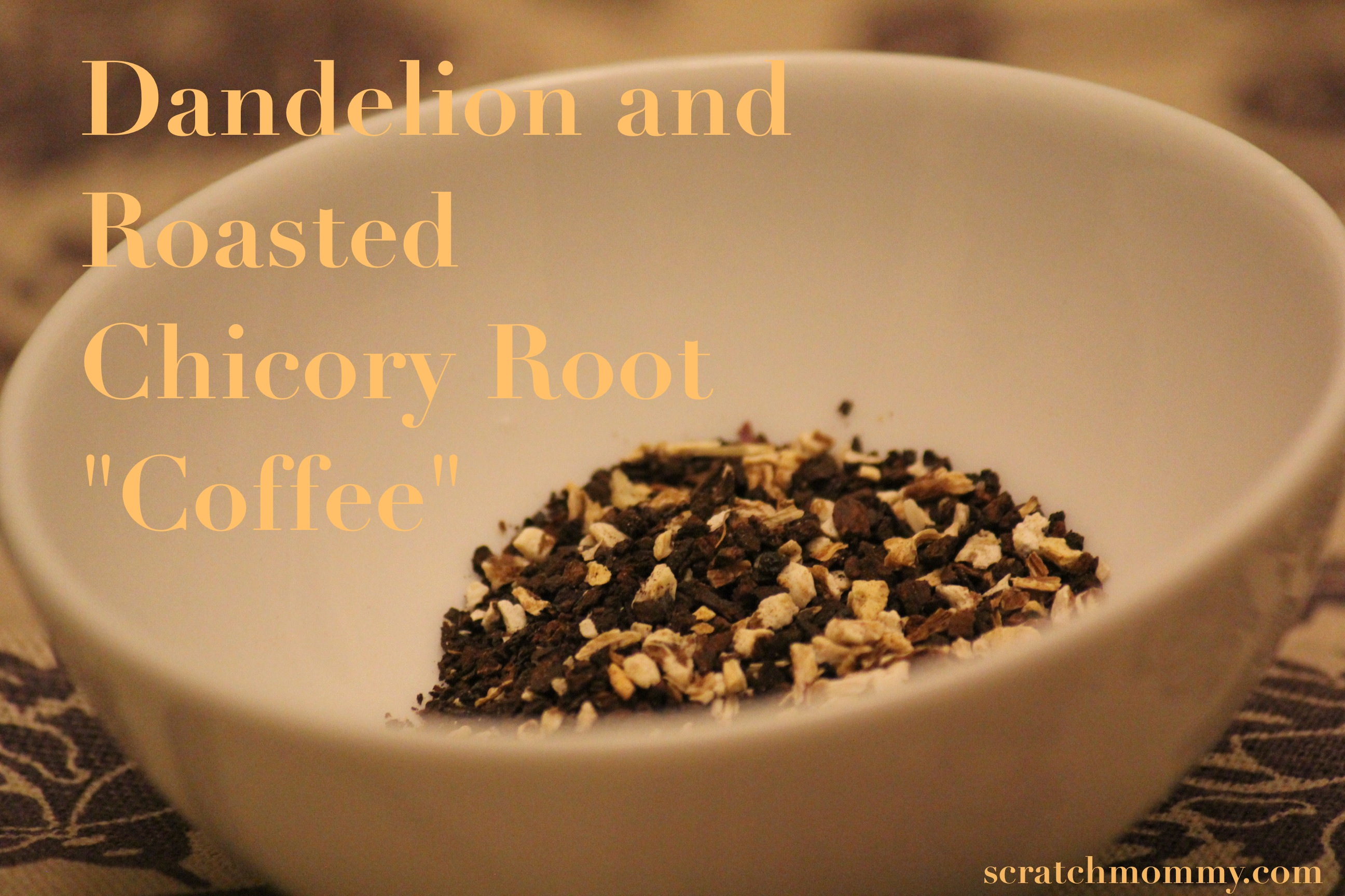 Chicory Coffee Homemade Coffee Pronounce Scratch Mommy