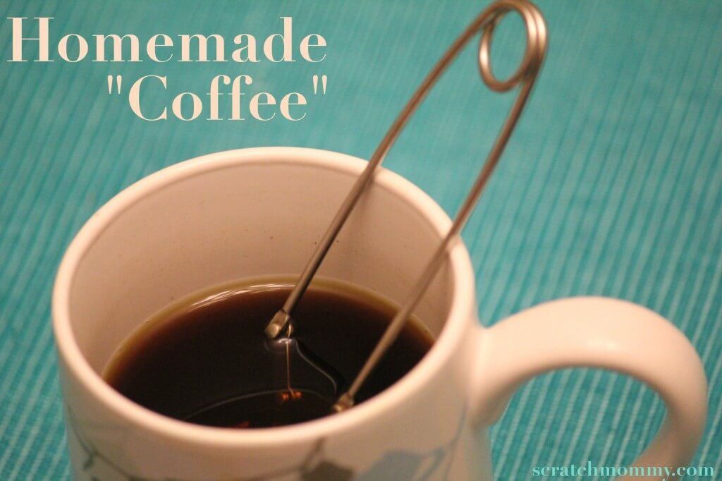 "Homemade ""Coffee"" - A great healthy alternative to regular coffee! -Scratch Mommy"