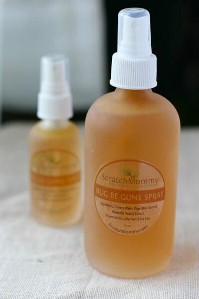 BBG Bug Be Gone Body Spray (in glass bottles, 2 sizes)- Scratch Mommy