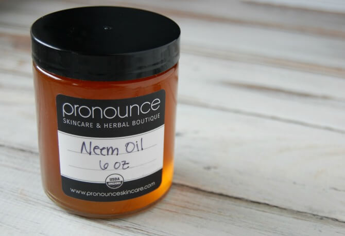 Neem oil - a magical carrier oil! I think it's a great addition to our DIY bug spray recipe.