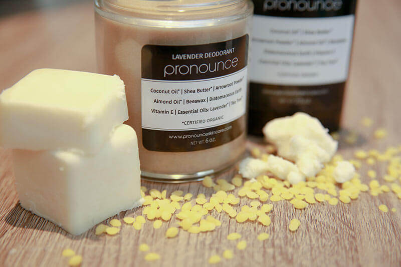Rather let us make this DIY deodorant recipe for you? Head over to my shop, Pronounce Skincare, where we offer this in 4 different scents for you!
