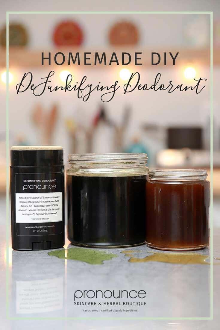 Homemade DIY Deodorant Recipe (secret