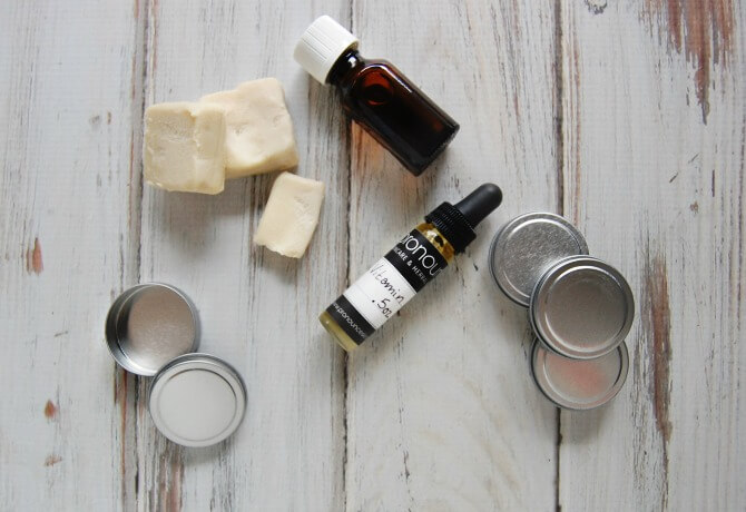 Let's learn about some of the raw ingredients needed to create this healthy homemade DIY deodorant recipe!