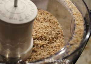 Sprouted breadcrumbs QUICK!!!