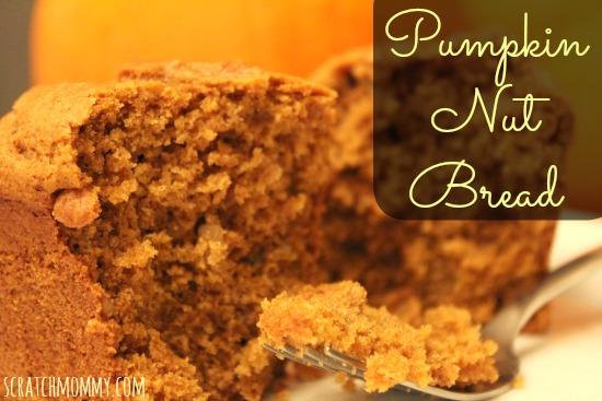 PumpkinNutBreadCloseUpFork