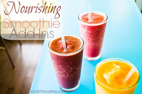 Nourishing Smoothie Add-In Ideas!