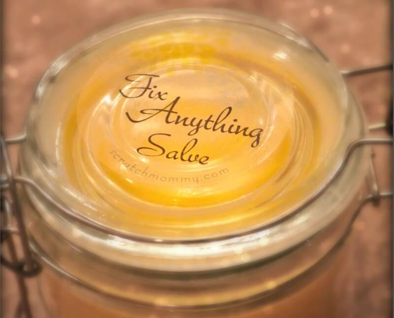 'Fix Pretty Much Anything' Salve – A Healing DIY Salve