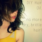 Nourishing DIY Hair Oil - No More Dry, Brittle Hair! By Scratch Mommy #NonToxic #DIY #HairOil #SplitEnds #Dry #DamagedHair