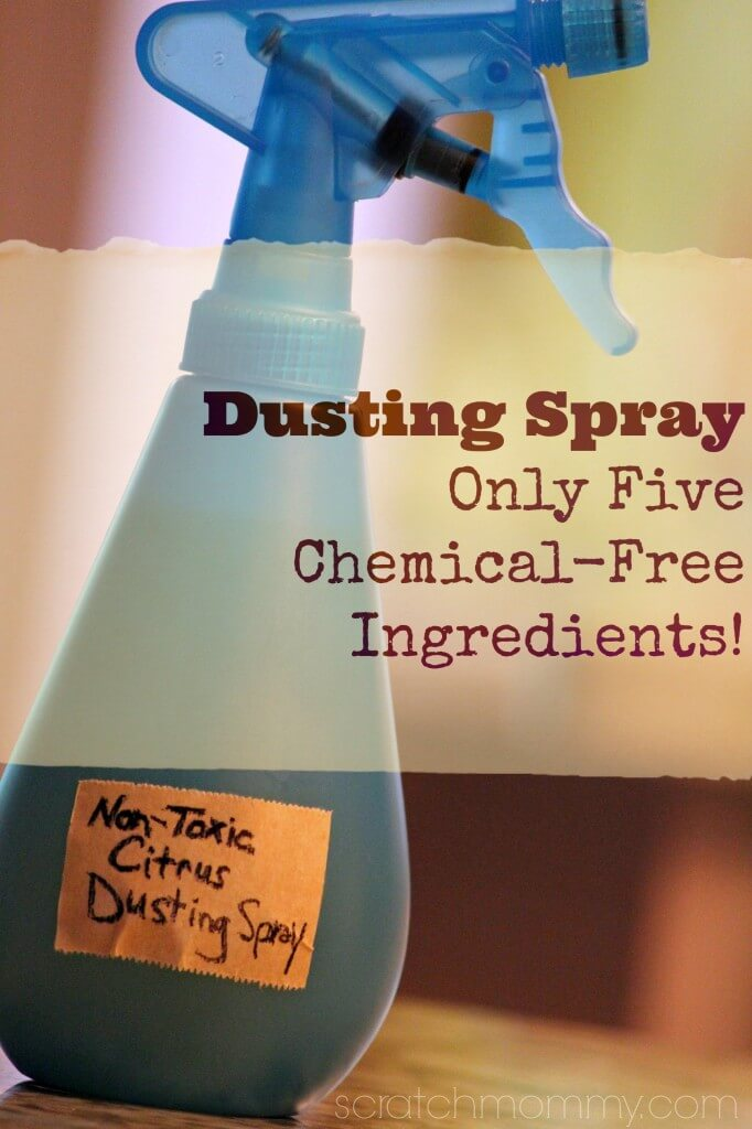 Effective DIY Non-Toxic Dusting Spray