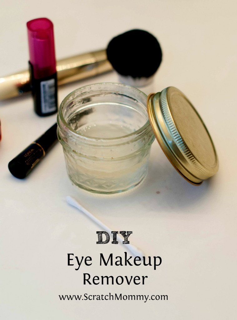 DIY Eye Makeup Remover Featured w/Text