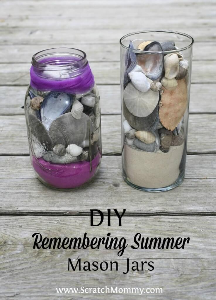 DIY Remembering Summer Mason Jars