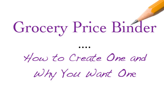 Did you know creating a grocery price binder can save you a ton of money on real food? Learn more here!