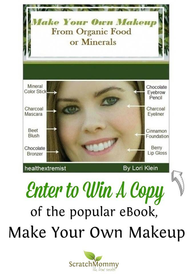 Make Your Own Makeup From Scratch E-Book Giveaway from Scratch Mommy