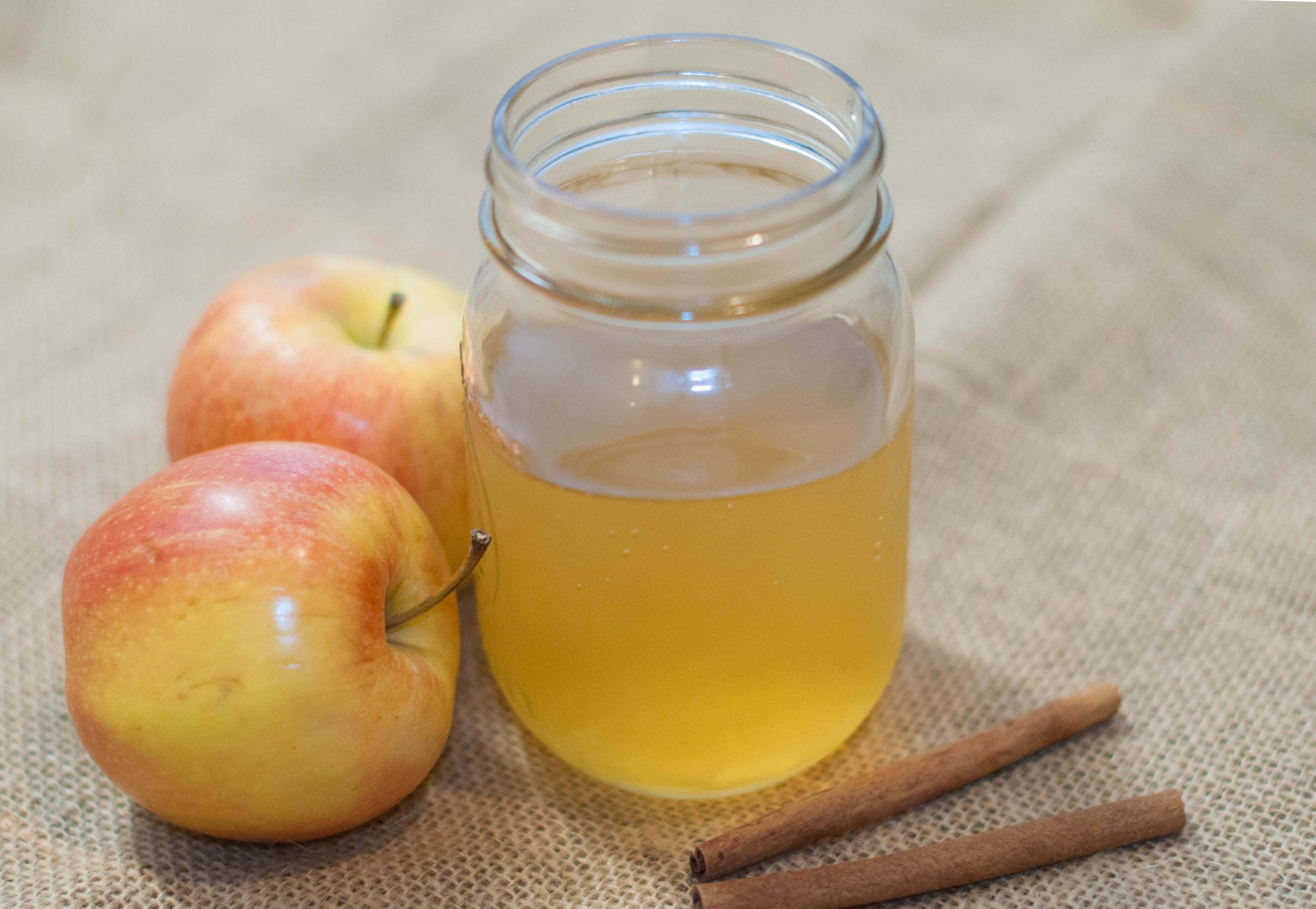 Fermented probiotic-rich tea, or kombucha, is one great way to add probiotics to your body in a real food way. Here's a great apple spiced kombucha recipe.