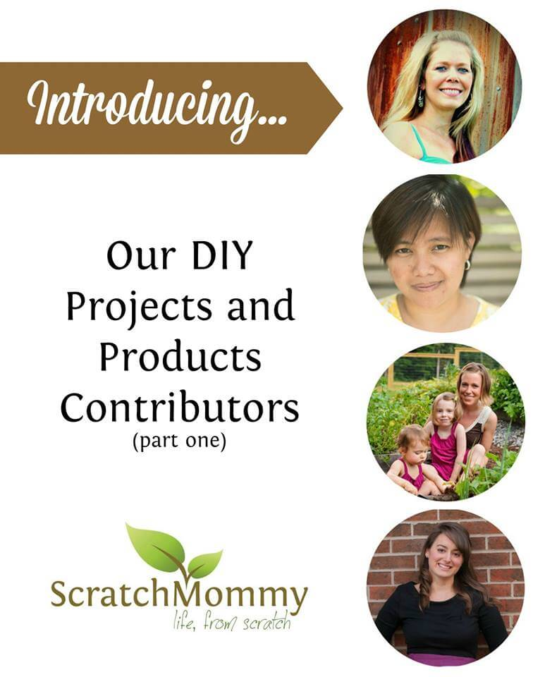The lovely DIY Scratch Mommy Writers (Part 1)