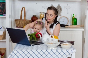 Laura shared her tips and tricks after 8 years of making her life as a work-from-home mom equal success for her family.