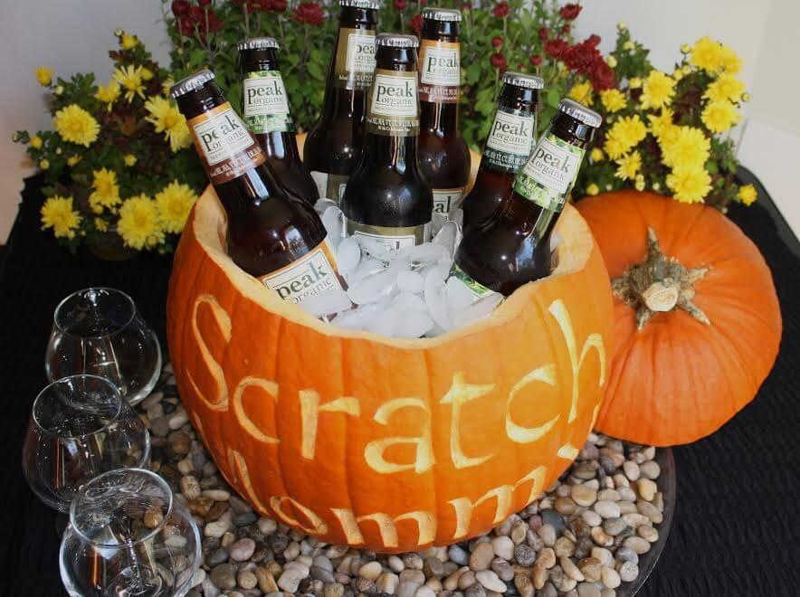 DIY Party Pumpkin Cooler