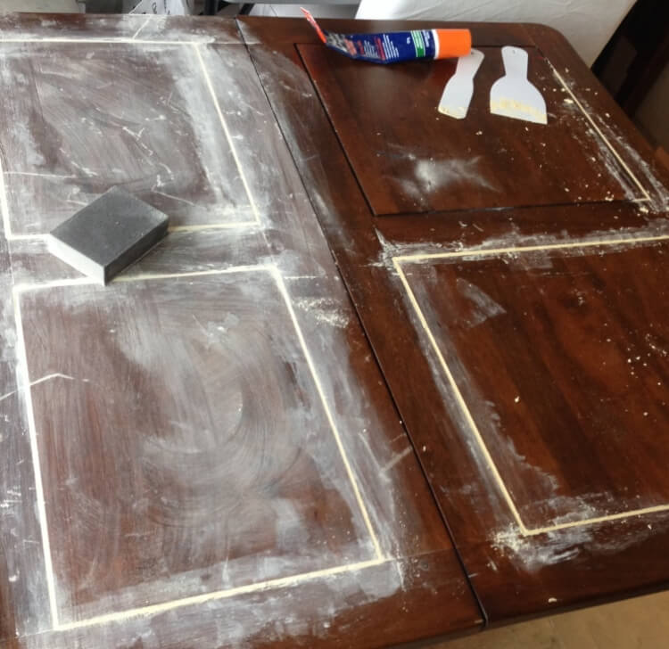 How to paint your table