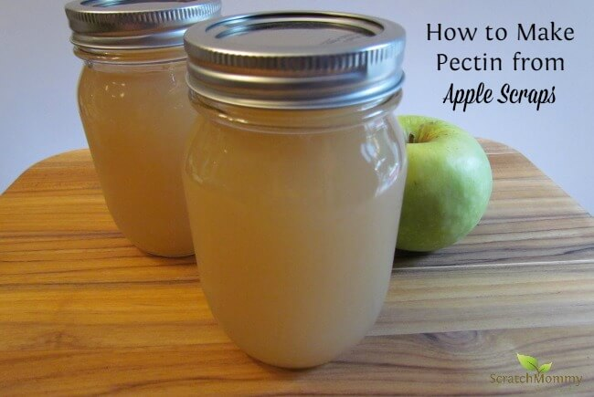 It's apple harvesting season, and I will show you how to make your very own pectin from apple scraps (so perfect if you're already baking with apples!).