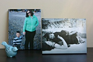 Scratch Mommy contributor, Crystal from Sew Creative, shares how to mount a photo to canvas for a one of a kind gift that will preserve memories.