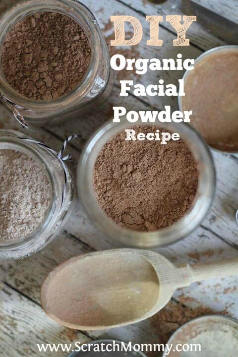 DIY Organic Facial Powder Recipe - SO easy and looks amazing!!!