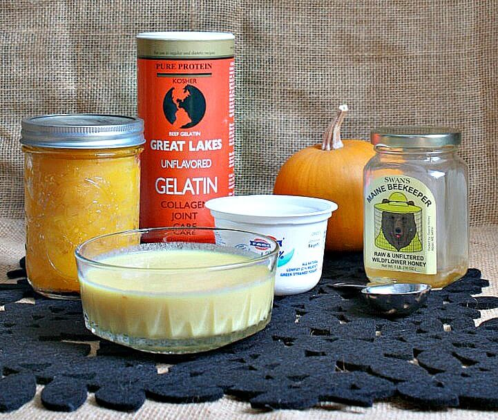 DIY Pumpkin Honey Gelatin Hair Mask Treatment