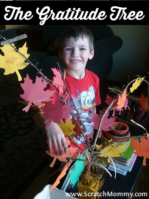Thanksgiving always gets the short end of the stick. A great way to make this holiday more meaningful to your kids is to create a gratitude tree.
