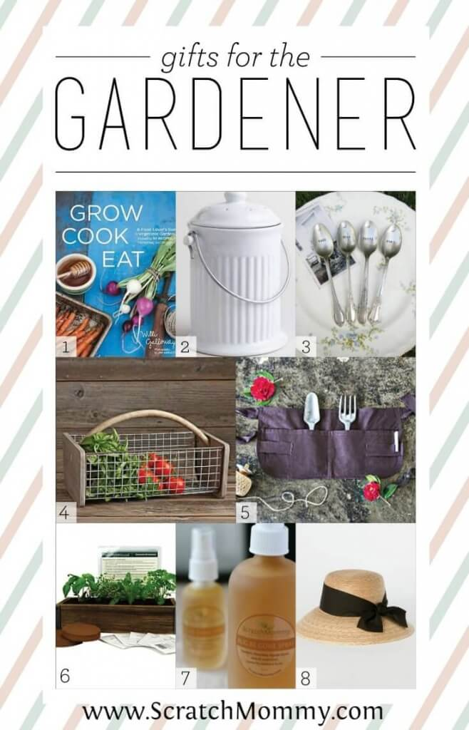 "Give the gardener in your life something that says ""Thanks for all the yummy homegrown food"" this season with these 8 fabulous gifts for the gardener."