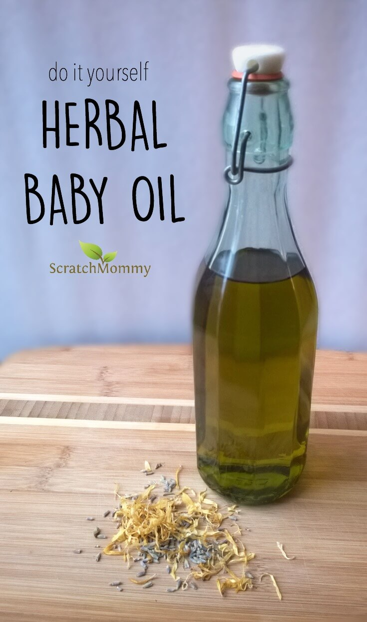 Diy Herbal Baby Oil Pronounce Scratch Mommy
