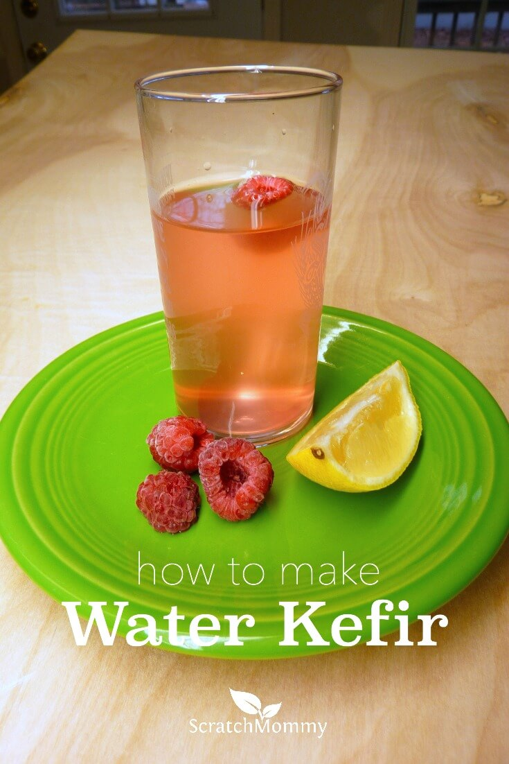 how to make water kefor