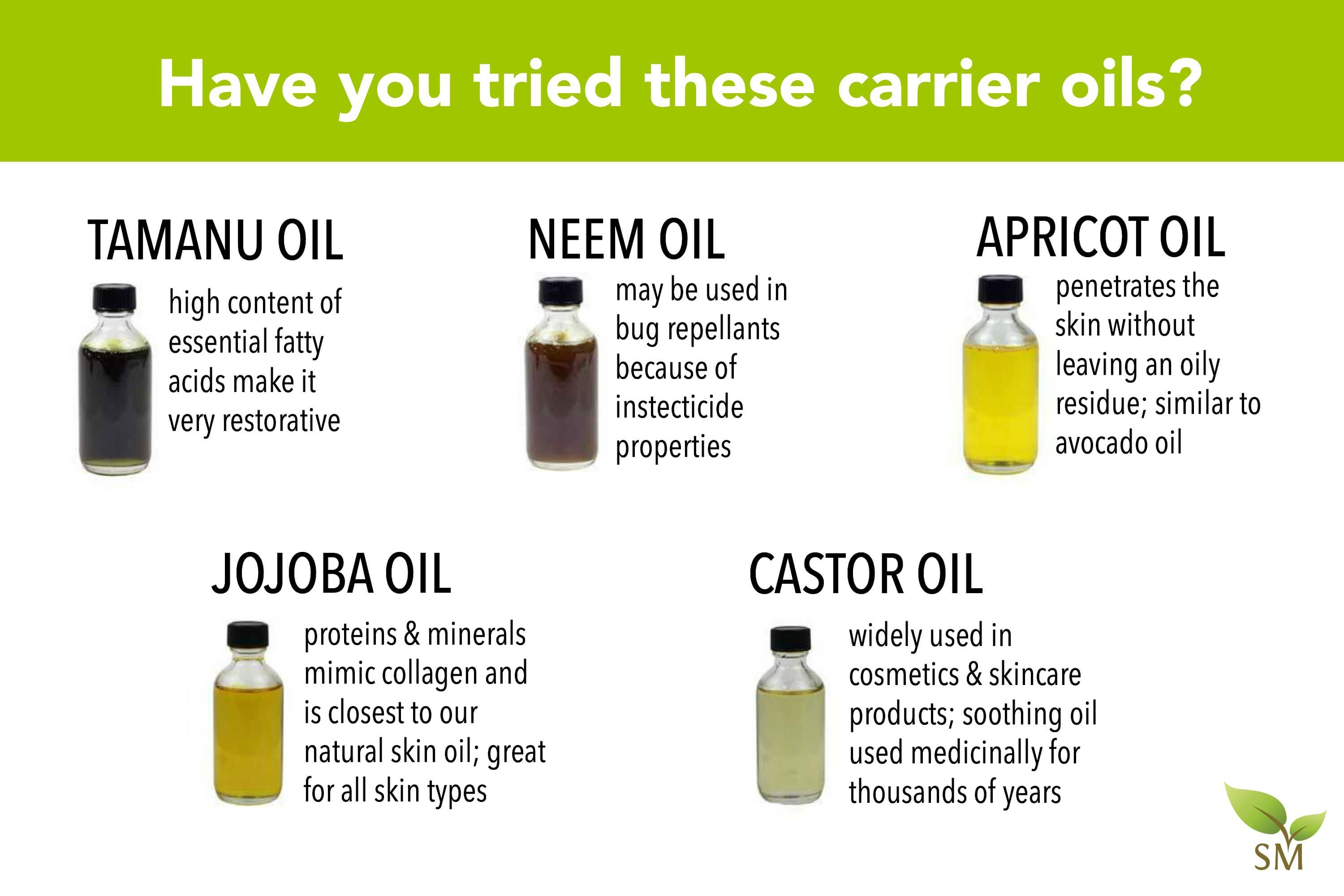 how to choose carrier oils scratch mommy