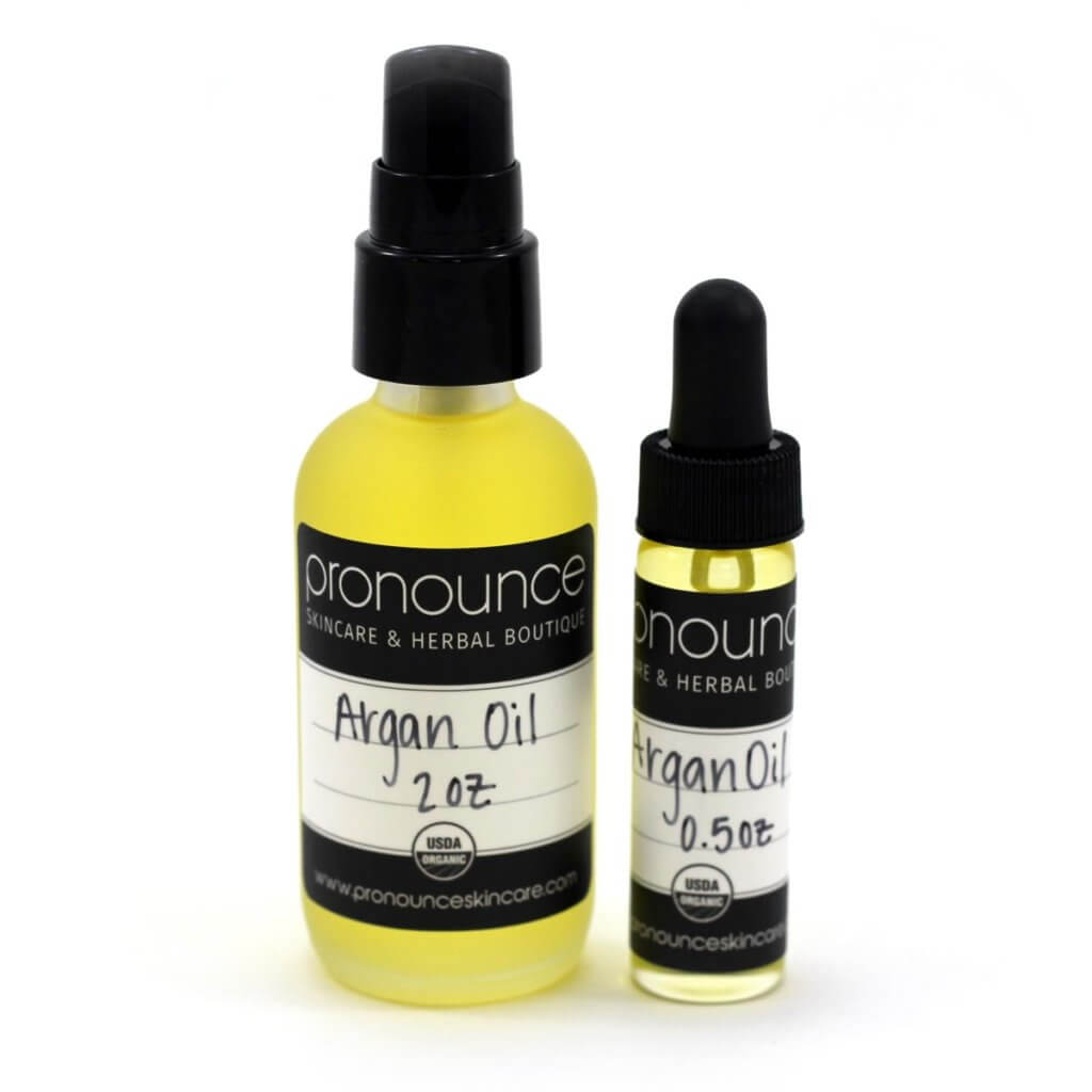 Certified Organic Argan Oil - Pronounce Skincare & Herbal Boutique