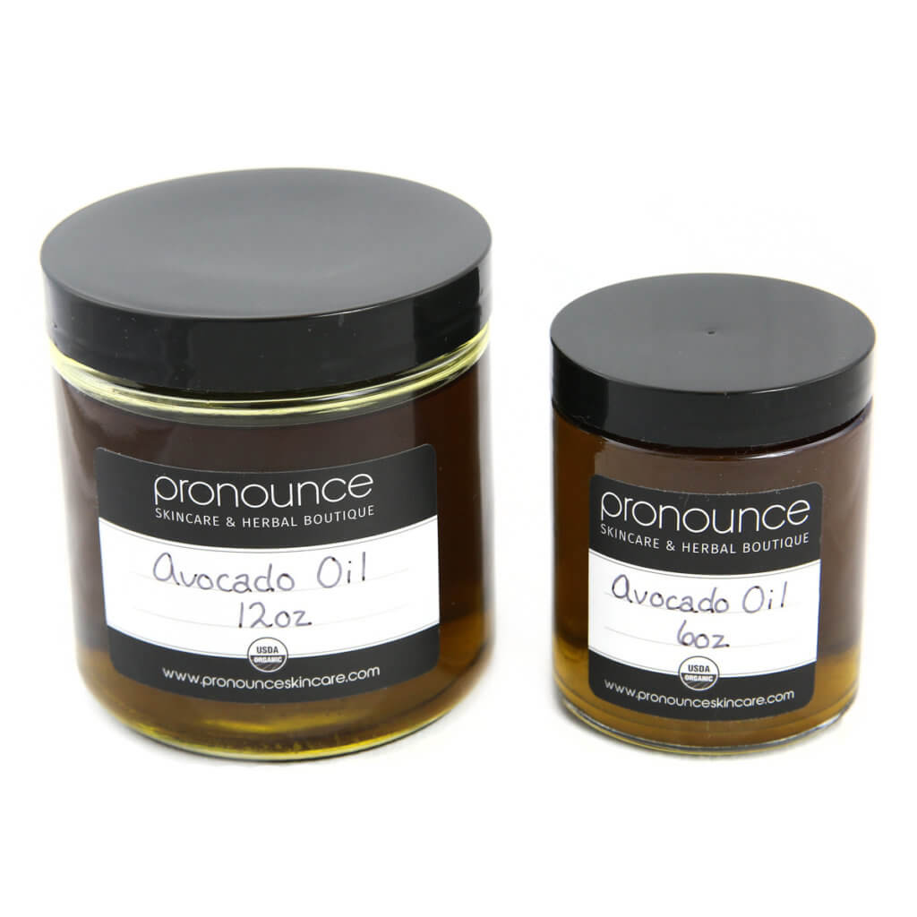Certified organic avocado oil - Pronounce Skincare & Herbal Boutique