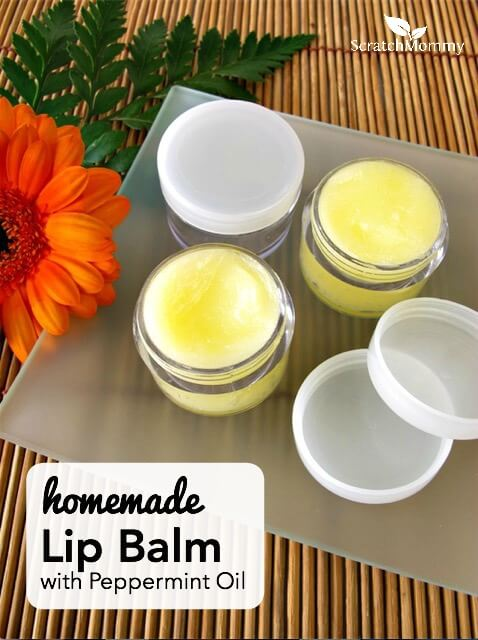 You don't have to be a Martha to whip up a batch of this homemade lip balm with peppermint oil. Anyone can do it, seriously. Your lips will love you for it!