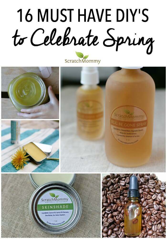 It's been a long hard Winter so let's jump into Spring with these 16 must have DIY's to celebrate Spring and all the wonderful things that come with it!