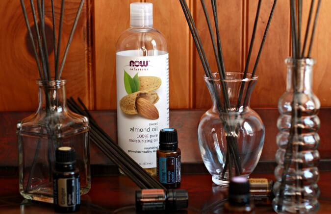 Diy Essential Oil Reed Diffuser Air Fresheners Pronounce