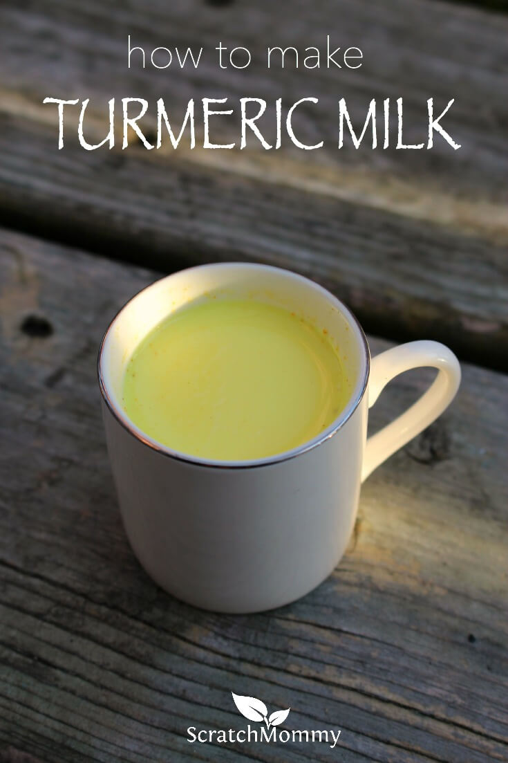 How to Make Turmeric Milk   Scratch Mommy   Pronounce Skincare