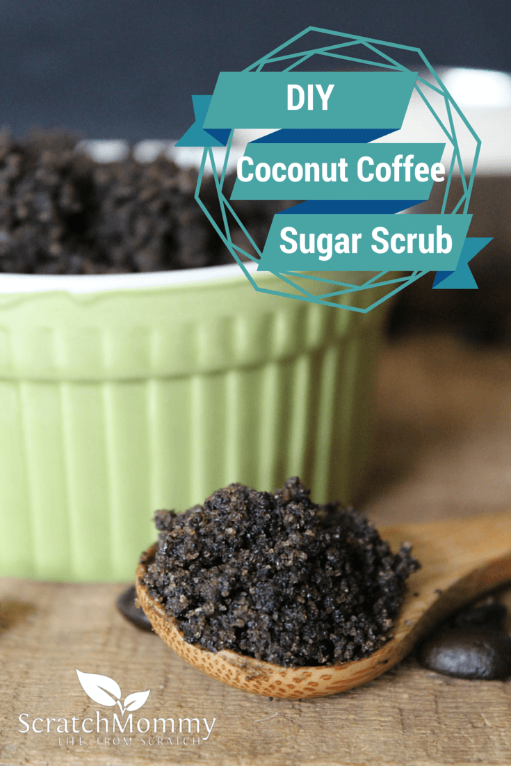 DIY Coconut Coffee Sugar Scrub