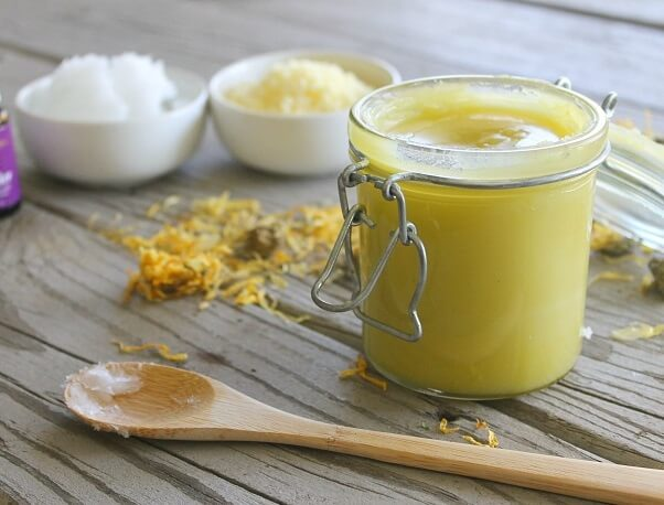 DIY Healing Hand Salve for Garden Hands