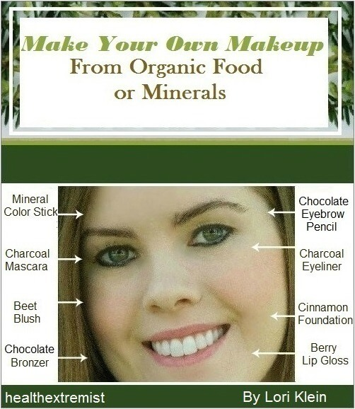 Make your own makeup from minerals