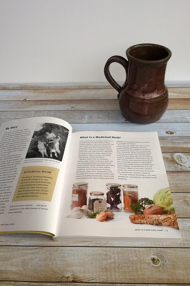 Medicinal Herbs: A Beginner's Guide {Book Review}