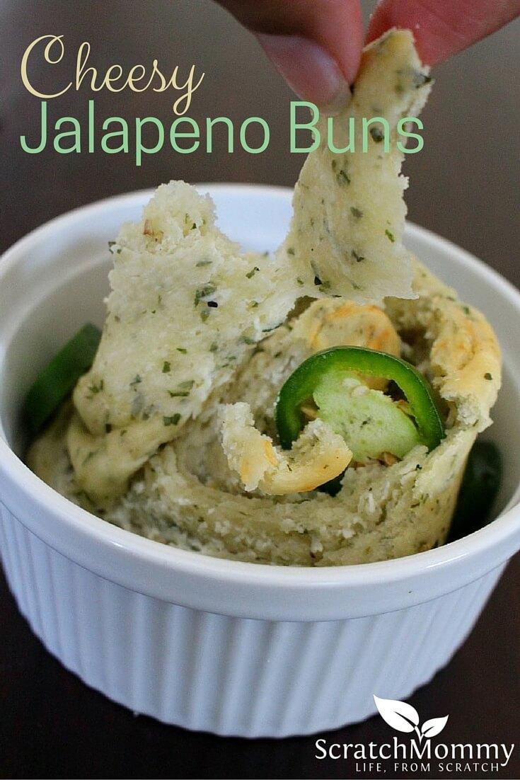 Savoury Cheesy Jalapeno Bun Recipe