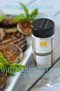 Mediterranean Grilled Eggplant with Naturally Free Spice Blends