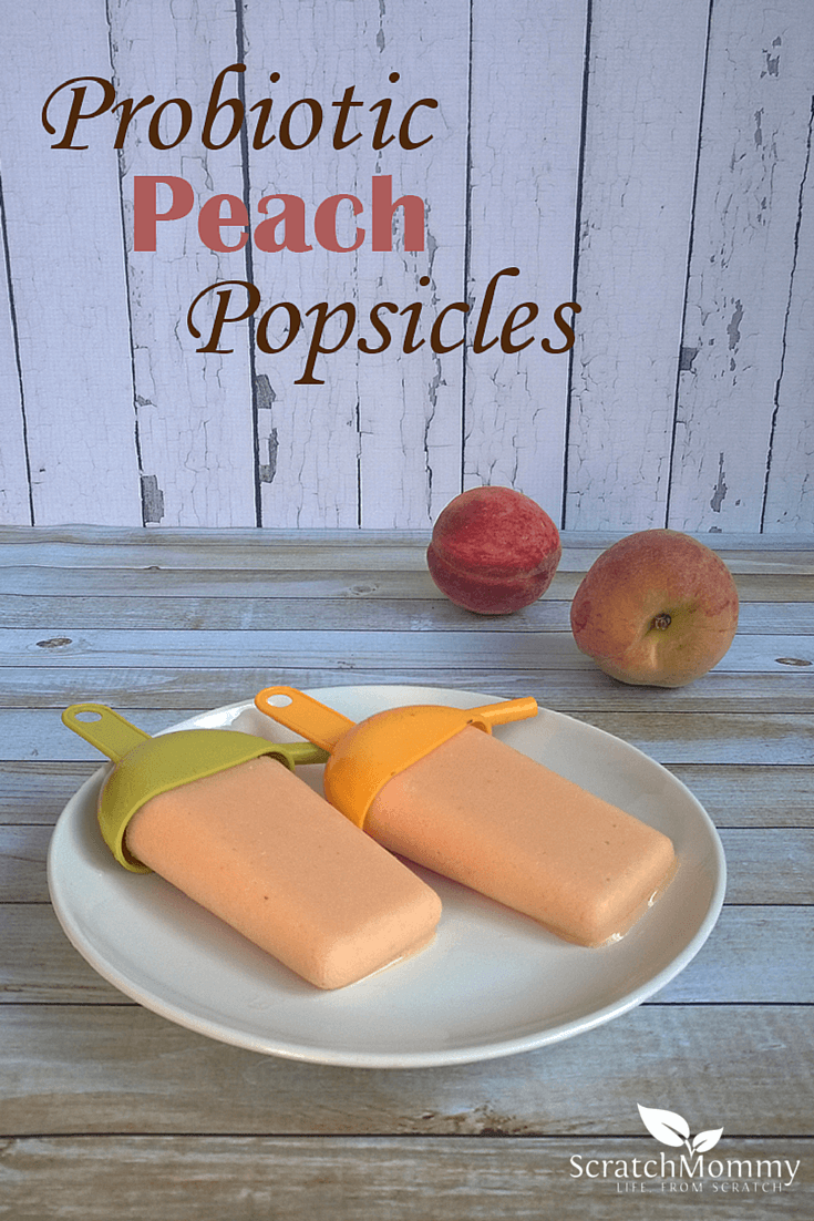 Probiotic Peaches and Cream Popsicle Recipe | Pronounce | Scratch ...