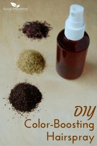 DIY Color-Boosting Hairspray