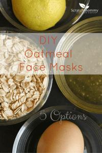DIY Oatmeal Face Masks - 5 Options
