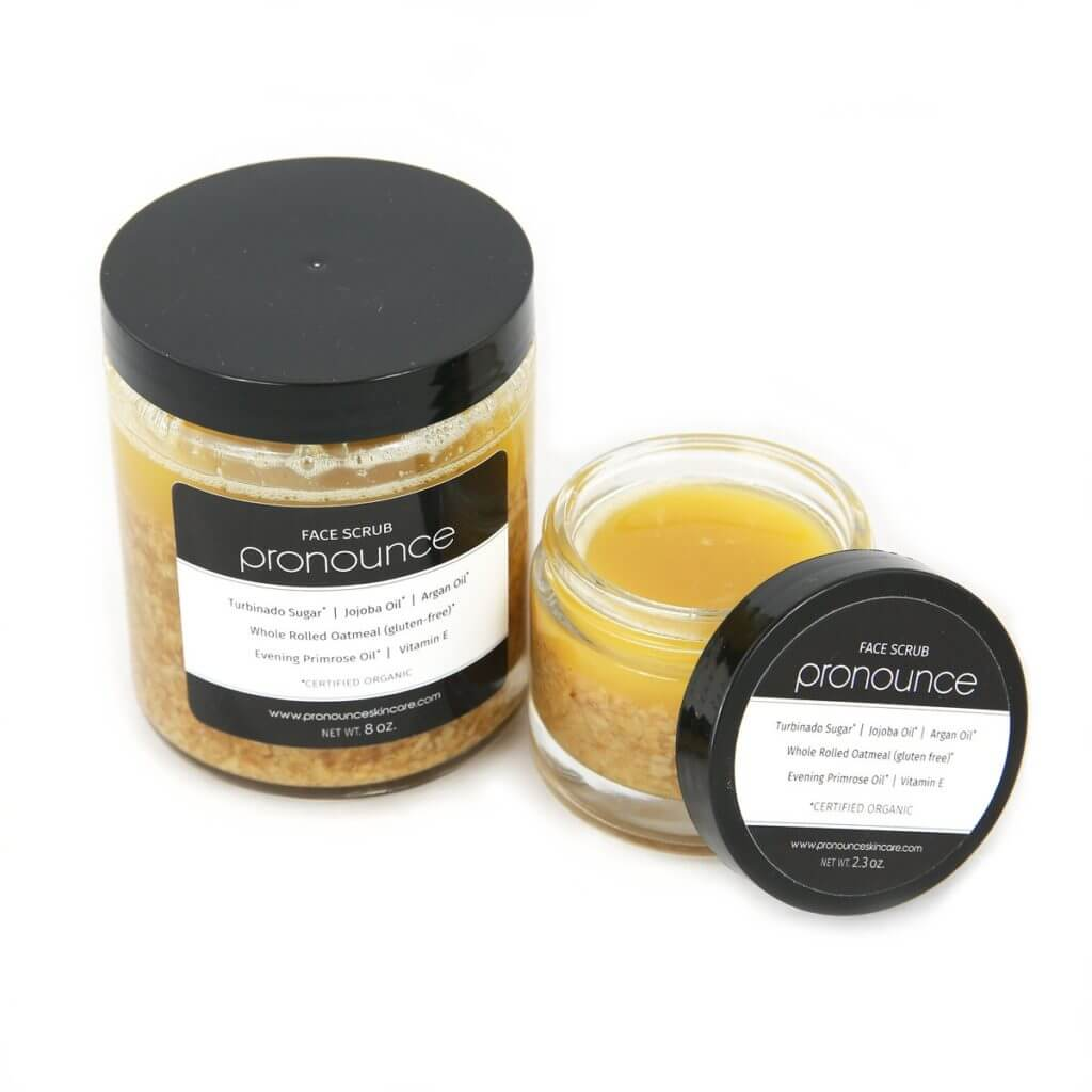 Face Scrub 2 Sizes Pronounce Skincare & Herbal Boutique-01 (1)