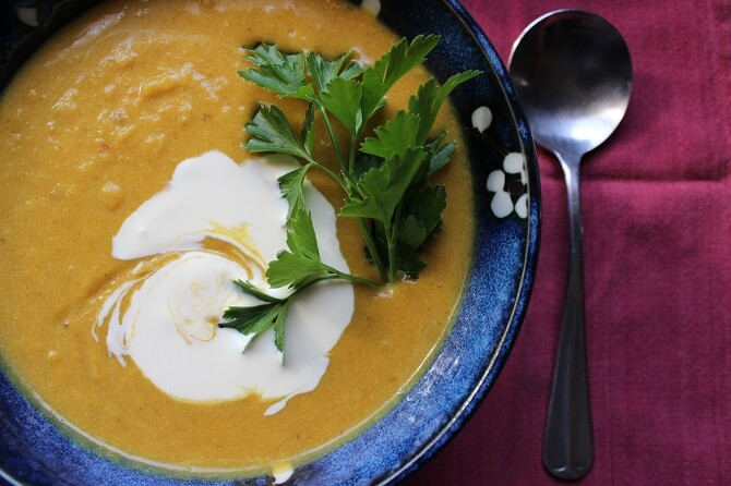 A New Cookbook for REAL Broth and Soup… Plus A Sweet Potato Coconut Curry Soup Recipe