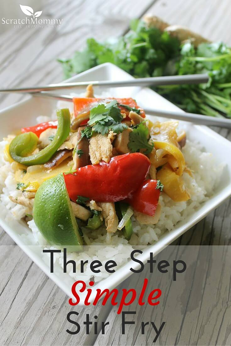 Three Step Simple Stir Fry Recipe